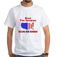 Border Security Stop The Inva Shirt
