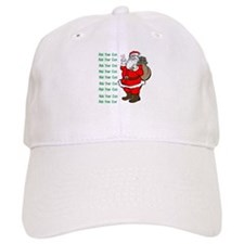 Add Your Own Text Santa Baseball Cap