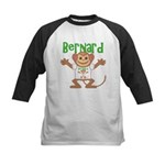 Little Monkey Bernard Kids Baseball Jersey