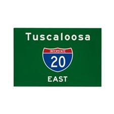 Tuscaloosa 20 Rectangle Magnet