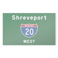 Shreveport 20 Decal