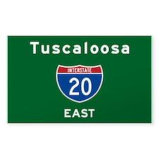 Tuscaloosa 20 Decal