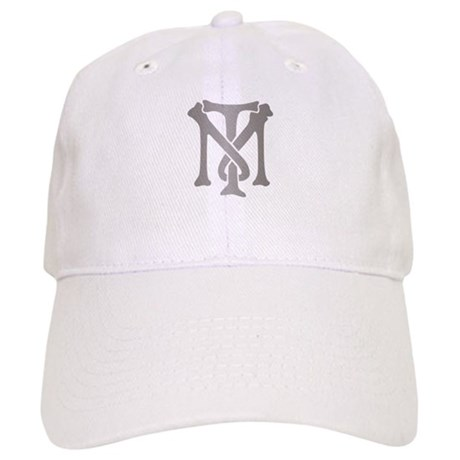 Tony Montana Silver Monogram Cap