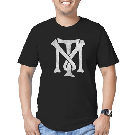 Tony Montana Vintage Monogram Men's Fitted T-Shirt