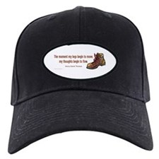 Thoreau Quote Hiking Baseball Hat