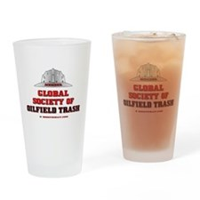 Global Society of Oilfield Trash Drinking Glass