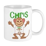 Little Monkey Chris Mug