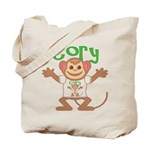 Little Monkey Cory Tote Bag