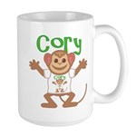 Little Monkey Cory Large Mug