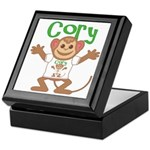Little Monkey Cory Keepsake Box