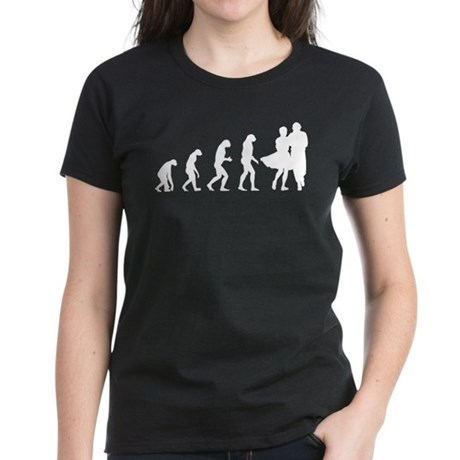 Evolution dancing Women's Dark T-Shirt