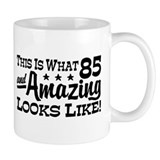 Funny 85th Birthday Small Mug
