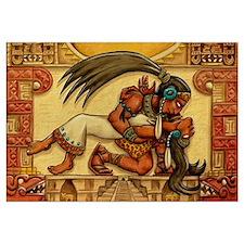 Mayan Embrace 11x17