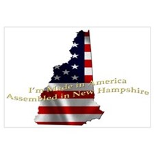 Cute Stars stripes Wall Art