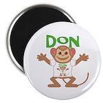 Little Monkey Don Magnet