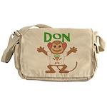 Little Monkey Don Messenger Bag