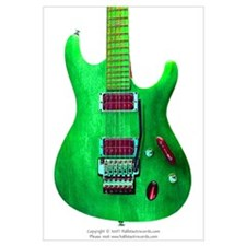"""Refl. Green"" Guitar"