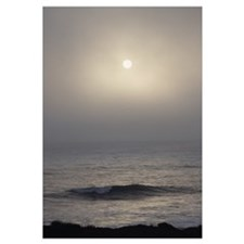 Cambria Sun in Fog