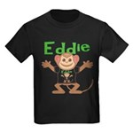 Little Monkey Eddie Kids Dark T-Shirt