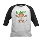 Little Monkey Eddie Kids Baseball Jersey