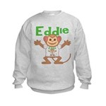 Little Monkey Eddie Kids Sweatshirt