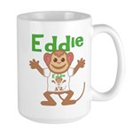 Little Monkey Eddie Large Mug