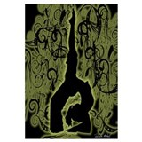 Cute Yoga is balance Wall Art