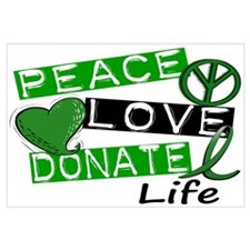 PEACE LOVE DONATE LIFE (L1)