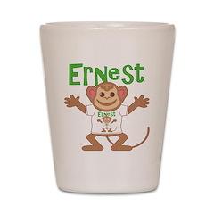 Little Monkey Ernest Shot Glass