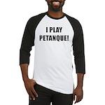 Petanque.org Baseball Jersey