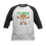 Little Monkey Frederick Kids Baseball Jersey