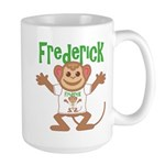 Little Monkey Frederick Large Mug