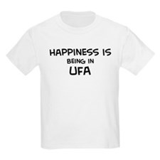 Happiness is Ufa Kids T-Shirt