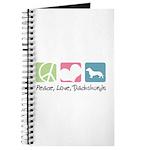 Peace, Love, Dachshunds Journal