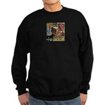 Wildlife Festival Set 1 of 2 Sweatshirt (dark)