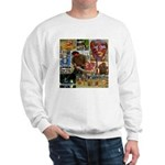 Wildlife Festival Set 1 of 2 Sweatshirt