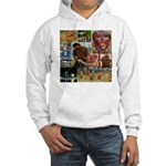 Wildlife Festival Set 1 of 2 Hooded Sweatshirt