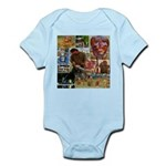 Wildlife Festival Set 1 of 2 Infant Bodysuit
