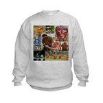 Wildlife Festival Set 1 of 2 Kids Sweatshirt