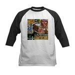 Wildlife Festival Set 1 of 2 Kids Baseball Jersey