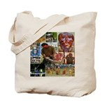 Wildlife Festival Set 1 of 2 Tote Bag