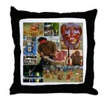 Wildlife Festival Set 1 of 2 Throw Pillow