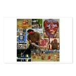 Wildlife Festival Set 1 of 2 Postcards (Package of