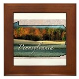Cute Pennsylvania Framed Tile