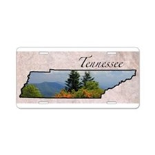 Cute Tennessee Aluminum License Plate