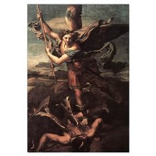 St Micheal and the Devil