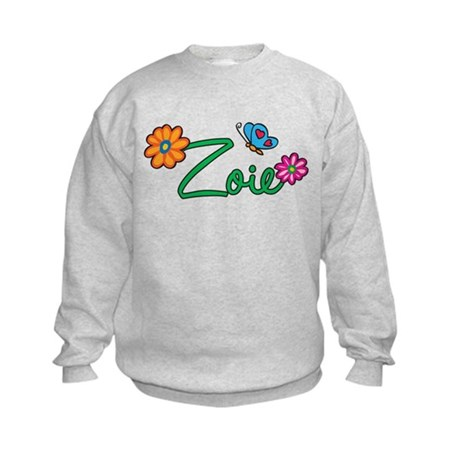 Zoie Flowers Kids Sweatshirt