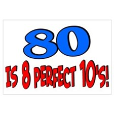 80 is 8 perfect 10's