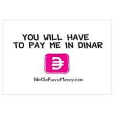 Pay Me In Dinar