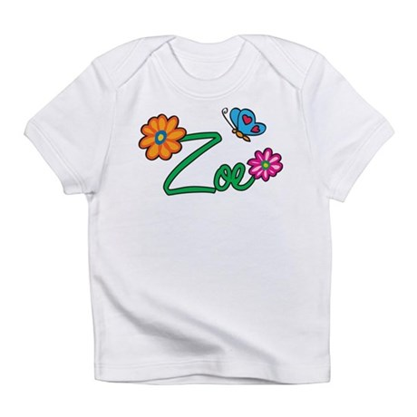 Zoe Flowers Infant T-Shirt